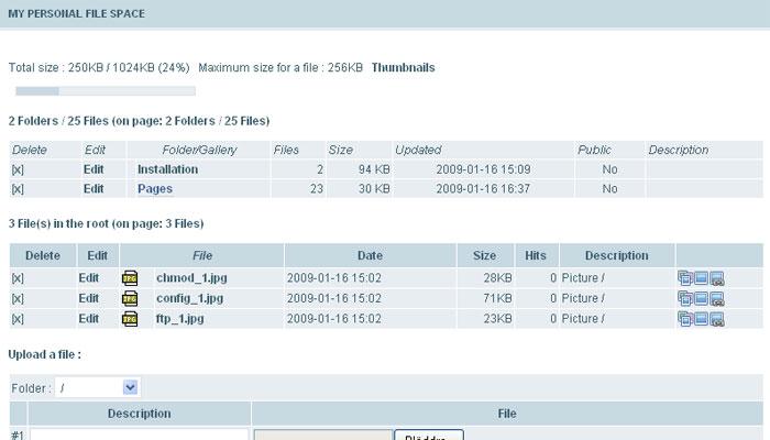 PFS screenshot 2